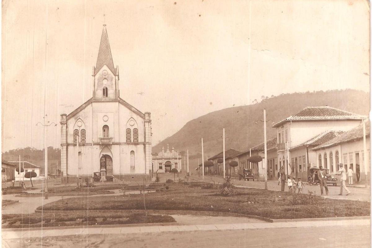 Igreja Matriz na década de 30